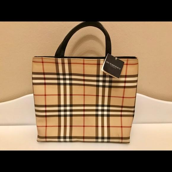 b8d53de20 Burberry Bags | Small Tote | Poshmark